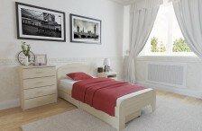 Кровать Тетис (сосна)