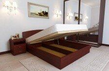 Кровать Юнона Элит подъем с ног (сосна)