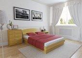 Кровать двуспальная с орт решеткой подъем с ног 180 190 см