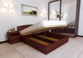 Кровать двуспальная с орт решеткой подъем с ног 180 200 см
