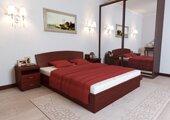 Двухспальная кровать Юнона 180 200 см